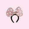 Magical Bow Headband Pin