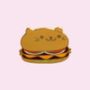 Kitty Burger Pin