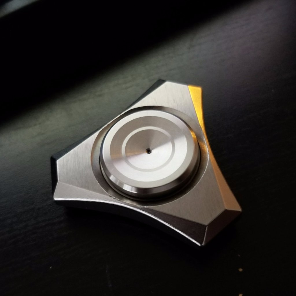 Tungsten Proxima Tri Fidget Spinner - ships in 2 days