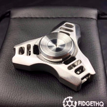 Quasar Tri Metal Fidget Spinner + new colors, R188 Removable Bearing