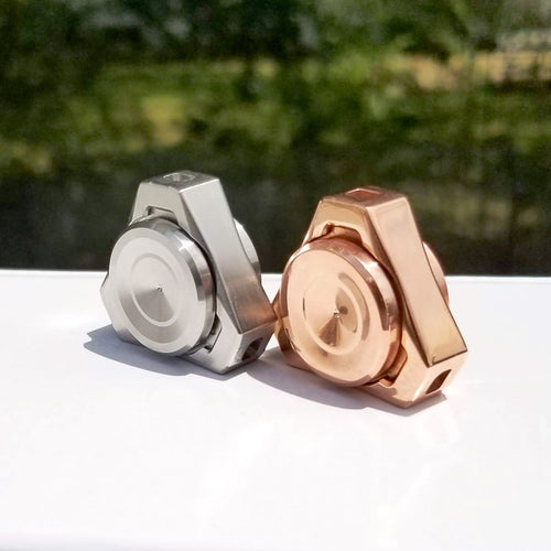 Proxima Nano Metal Fidget Spinner, R188 Removable Bearing