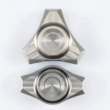 Puffy Proxima Tri: Thick Metal Fidget Spinner, R188 Press-fit Bearing (This is a pre-order and will ship in ~5 weeks)