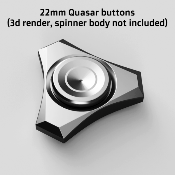 Tungsten R188 Buttons For Press Fit And Removable Fit Spinners