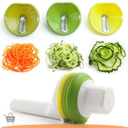 3 Blades Vegetable Spiral Slicer