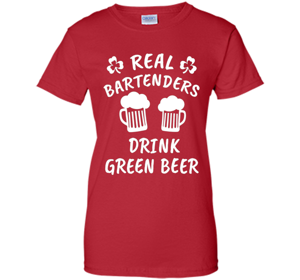 Bartenders Drink Green Beer St. Patrick's Day T-shirt