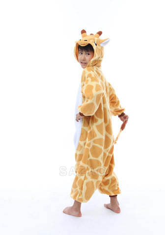 831986235c46 Kids One Size Giraffe Kigurumi Onesie – Disguise the Limit