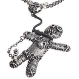 Voodoo Doll Pendant from Alchemy Jewelry
