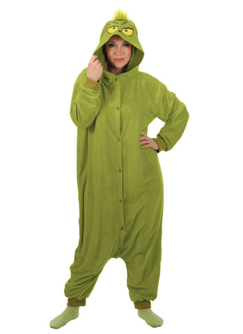 Dr. Seuss The Grinch Kigurumi Adult