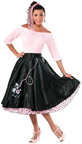 Black Poodle Skirt