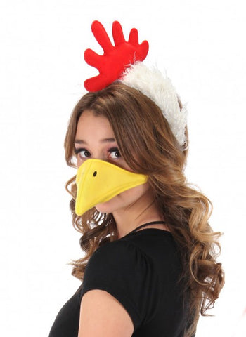 Chicken Headband & Beak