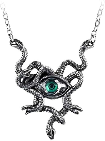 Gorgons Eye Necklace from Alchemy Jewelry