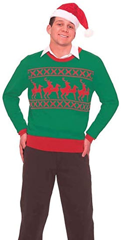 Reindeer Games Tacky Holiday Sweater