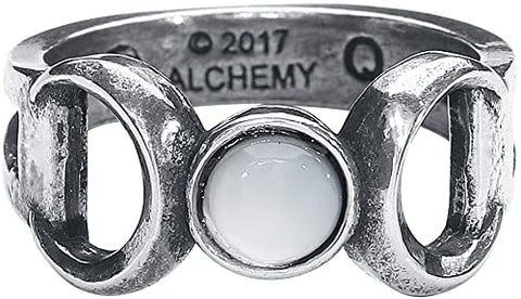 Triple Goddess Ring from Alchemy Jewelry