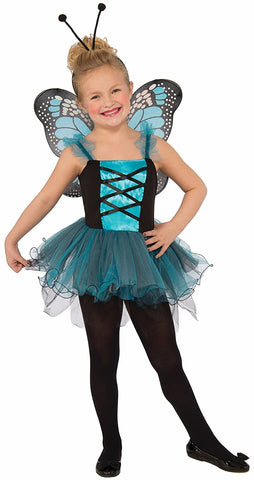 Child's Flutter Blue Butterfly