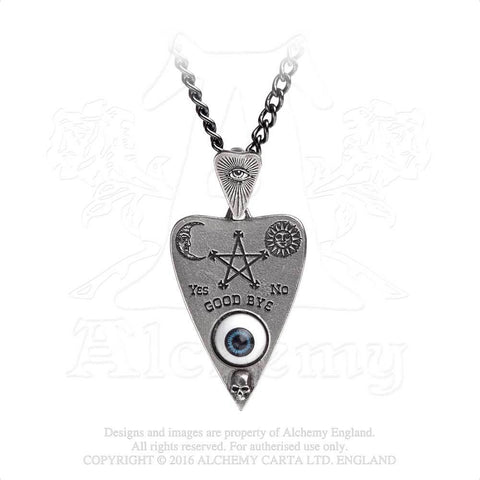 """Planchette"" Ouija Pendant from Alchemy Jewelry"