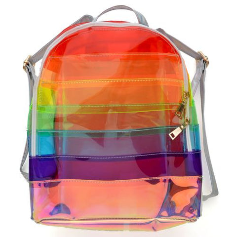 Rainbow Jelly Backpack