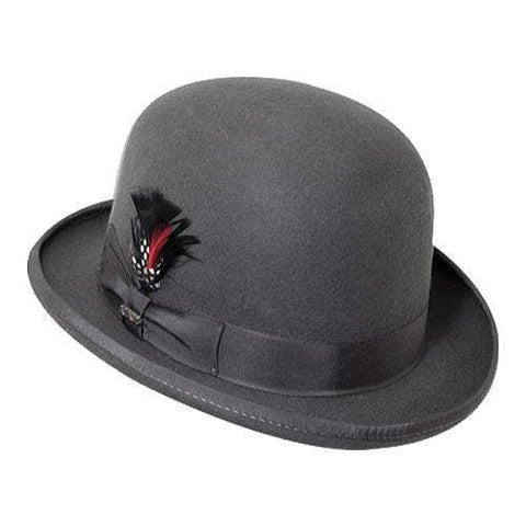 76c53d5e8e2b99 Scala Felt Bowler Hats – Disguise the Limit
