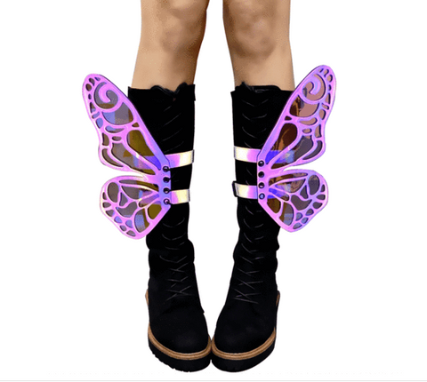 FlutterByee Butterfly Flash Reflective Wingz