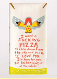 F****** Pizza Dish Towel