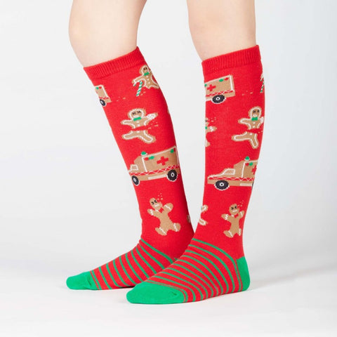 "Sock It To Me ""Break A Leg"" Youth Knee-High Socks"