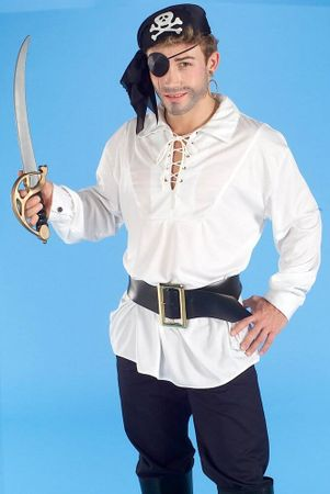 White Swashbuckler Shirt