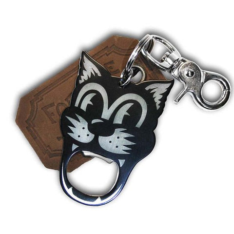 The Gentleman's Bottle Opener & Key Ring - Tomcat