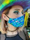 Mermaid Mood Reversible Face Mask