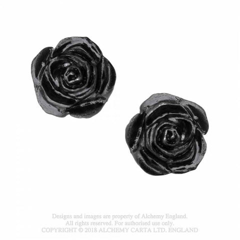 The Romance of Black Rose Stud