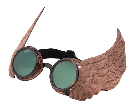 Elope Steamworks Winged Goggles