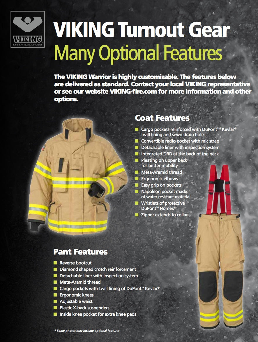 Viking Warrior Nfpa Turnout Gear Jersery Shore Rescue Tools