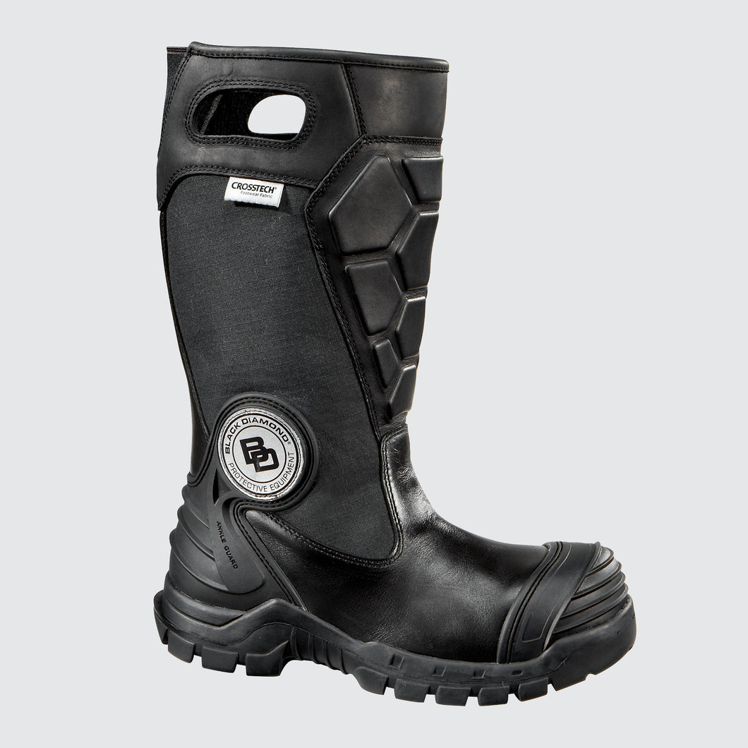 Black Diamond X2 Leather Structural Firefighter Boot