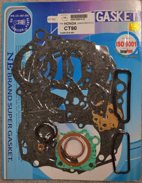 Honda CT90 Trail 90 1966-1979 Complete Engine Gasket Kit Set