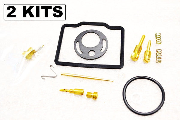 2x Honda 68-69 CB175 CL175 Carburetor Carb Rebuild Kit - 2 Kits