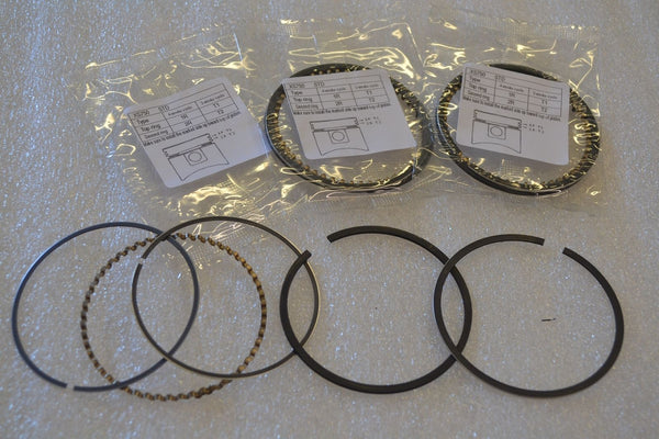 Yamaha 78-79 XS750 Piston Ring Set STD 68mm -Set of 3 - Reproduction