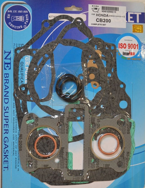 Honda CB200T CL200 CB200 Complete Engine Gasket Kit Set