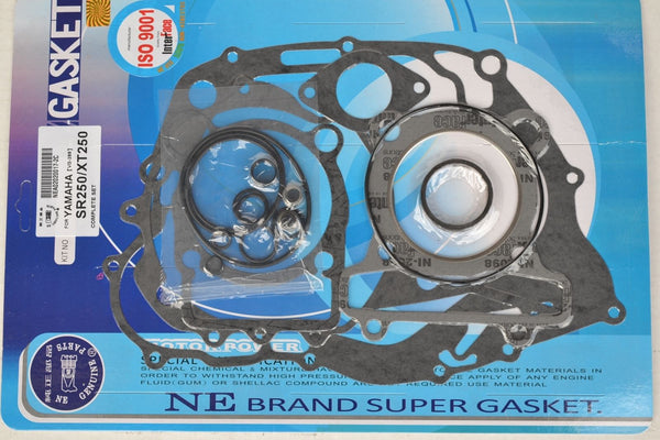 Yamaha 80-83 XT250 80-82 TT250 80-82 SR250 Complete Engine Gasket Kit Set