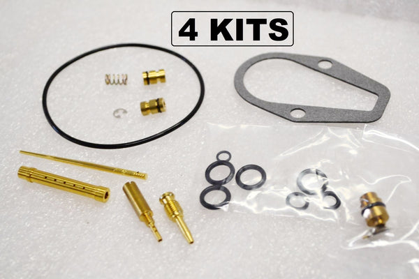 4x Honda 71-73 CB500K Carburetor Carb Rebuild Kit - 4 KITS