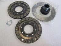Moto Guzzi Clutch Kit - 5 Speed Big Twins - 4mm Deep Spline - Plates and Hub