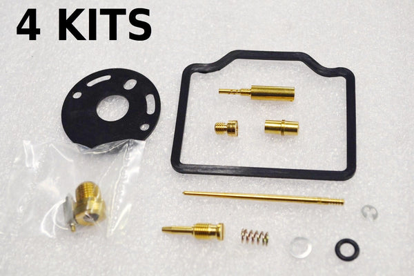 4x Honda 71-76 CB750K CB750 K1 - K6 Carburetor Carb Rebuild Kit - 4 KITS