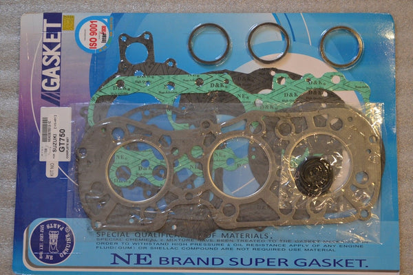Suzuki 71-77 GT750 Complete Engine Gasket Kit Set