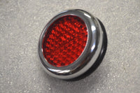 Lucas RER25 Red Reflector - Replica - Norton Triumph Moto Guzzi BSA