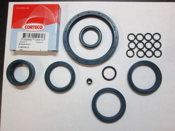 Moto Guzzi Engine Trans Final Drive Oil Seal Kit Set V700 Ambassador