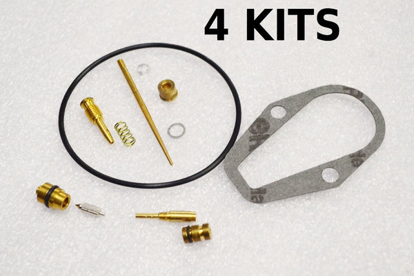 4x Honda 71-73 CB500K CB500 Four Carburetor Carb Rebuild Kit - 4 KITS