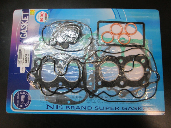 Honda 71-73 CB500 CB500K Four Cylinder Complete Engine Gasket Kit Set