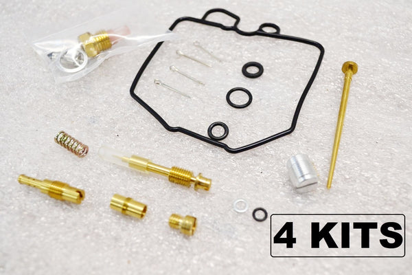 4x Honda 80-83 GL1100 Goldwing Carburetor Carb Rebuild Kit - 4 Kits