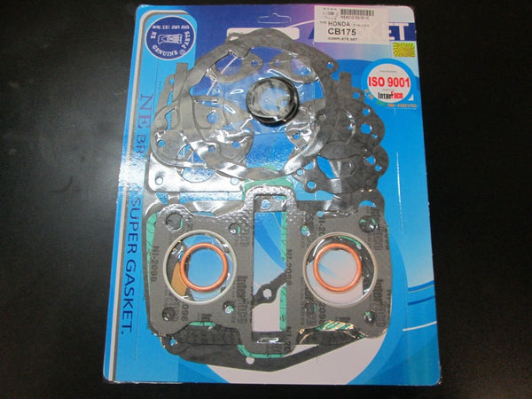 Honda CB175 CD175 CL175 SL175 Complete Engine Gasket Kit Set