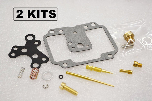 2x Yamaha 76-79 XS650 Carburetor Carb Rebuild Kit BS38 CV - 2 KITS