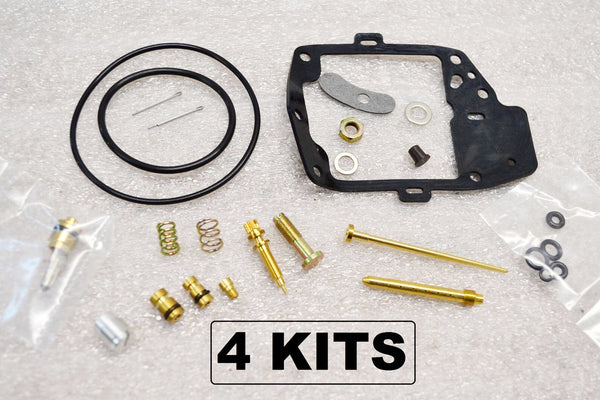 4x Honda 1977 GL1000 Goldwing Carburetor Carb Rebuild Kit - 4 Kits