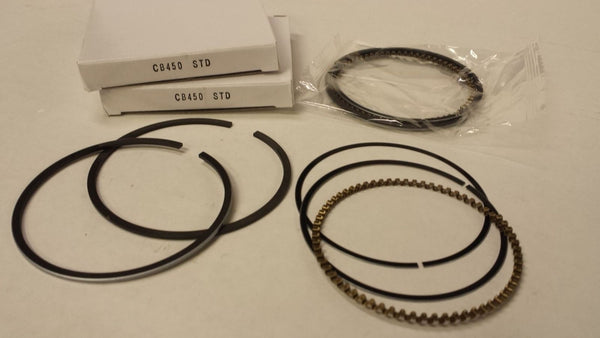 Honda CB450 CL450 CB500T Piston Rings - 2 Sets - STD 70.0mm Bore - New Repro