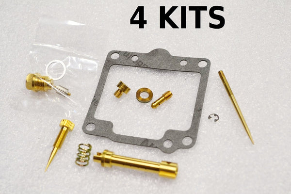 4x Yamaha 1978 1979 XS1100 Carburetor Carb Rebuild Kit - 4 KITS